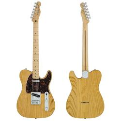 Guitarra Fender Telecaster de frente y espalda.