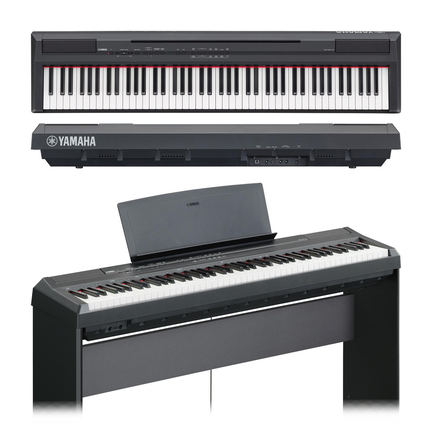 yamaha p 105 piano digital de 88 teclas de escenario